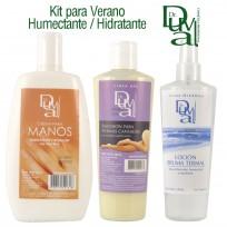 Kit Humectante Hidratante para Verano Dr. Duval