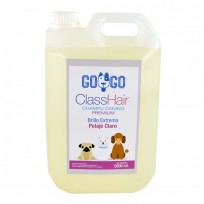 Shampoo Premium Para perros Brillo Extremo Pelaje Claro x 5000ml - Uso Profesional Peluquerías Caninas