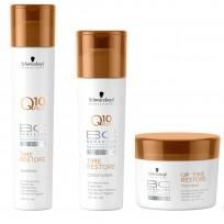 Pack BC Time Restore: Shampoo x 250 ml + Acondicionador x 200 ml + Tratamiento x 200 ml