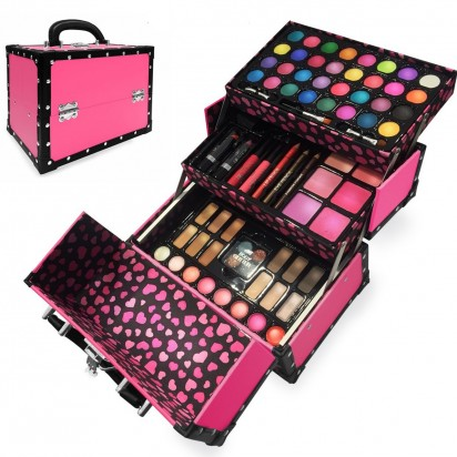 Maletín Set de Maquillaje Beauty Case