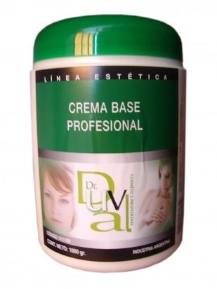 Crema Base Profesional 1kg Dr. Duval
