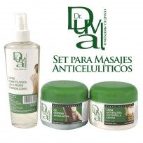 Set para Masajes AntiCelulitis Dr. Duval