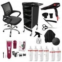 Combo Sillón Day + Herramientas + Shampoo + Acondicionador + Tratamiento Schwarzkopf