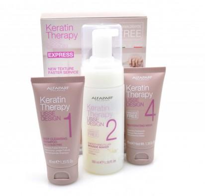 Kit AlfaParf Keratin Therapy Lisse Design Alisado Progresivo con Keratina