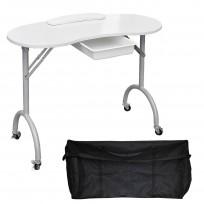 Mesa de Manicuría Portable con bolso para guardarla Teknikstyle