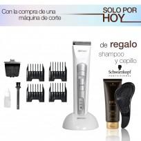 Trimmer de Corte Recargable White Pecision Trimmer + Cuchilla de Dibujo WPRO + Shampoo y Cepillo de Regalo!