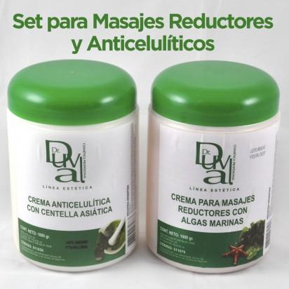 Set Reductor Anticelulítico Dr. Duval