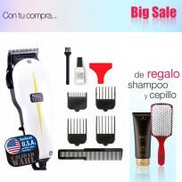Maquina Cortadora De Pelo Wahl Super Taper Profesional + Shampoo Schwarzkopf y Cepillo de Regalo!!