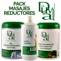 Pack Profesional para Masajes Reductores Dr Duval