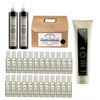 Kit The Hair Supporters Alfaparf: Scalp Protector + Bond Rebuilder + Fiber Restorer + Mousse Bleach Kit