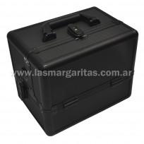 Maletin Profesional Aluminio Negro 1432