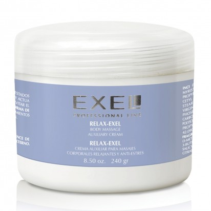 Crema para Masajes Relax Exel x 240grs.