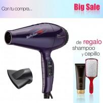 Secador  de Pelo Profesional  Italo Colors BaByliss PRO + Shampoo Schwarzkopf y Cepillo de Regalo!!