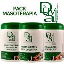 Pack Profesional para Masajes Dr Duval