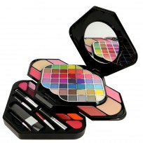 Kit de Maquillaje Deluxe Makeup 59 Colores Extra Pearl Shine BR Cosmetics