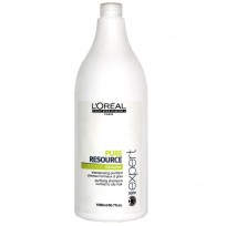Shampoo Serie Expert Purificante Scalp Pure Resource x 1500ml Loreal Professionnel