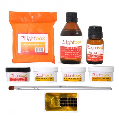 Kit para Uñas Esculpidas Lightbox