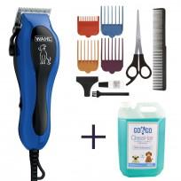 Máquina de corte para Perros U-Clip Dog Wahl + Shampoo Premium Para Perros x 5000ml GoGo Class Hair