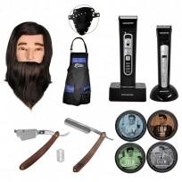 Combo herramientas para barbería + Productos Capilares Crew