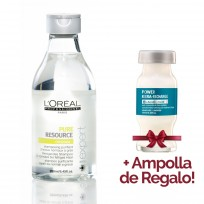 Shampoo Serie Expert Purificante Scalp Pure Resource x 250ml Loreal Professionnel + 1 Ampolla de REGALO!