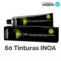 Promo Coloración Inoa Loreal: 60 tinturas Inoa sin amoníaco
