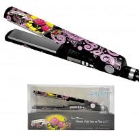 Plancha Humedo Digital Nano Titanium Babyliss Pro 2091 Edición Limitada Ink Tattoo Negra