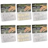 Pack 6 cajas de tips Pinnacle x 200 c/u. a elección