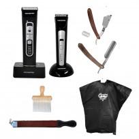Combo herramientas para barbería + Accesorios