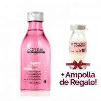 Shampoo Serie Expert Lumino Contrast x 250ml Loreal Professionnel + 1 Ampolla de REGALO!!!