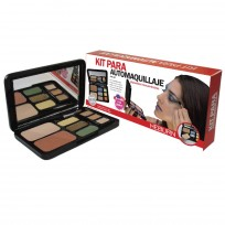 Kit Completo para Automaquillaje Make Up Heburn