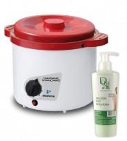 Calentador de Cera Para Depilación Ceratermic Standard 1kg. Arcametal + REGALO DR. DUVAL!