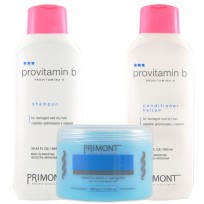 Pack Profesional ProVitamina B Primont: Shampoo + Enjuague + Tratamiento