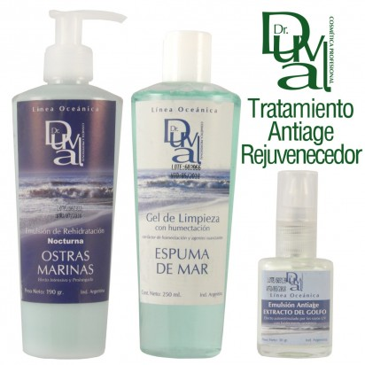 Tratamiento Facial Antiage Rejuvenecedor Linea Oceánica Dr. Duval