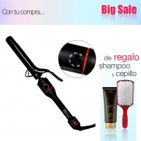 Pinza Ondular ZIP CURL Rápido 25 mm Babyliss Pro + Shampoo Schwarzkopf y Cepillo de Regalo!!