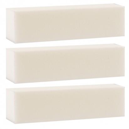 Set Bloques de Uñas Blanco X 3 Unidades