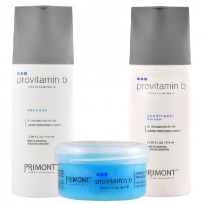Pack ProVitamina B Primont: Shampoo + Acondicionador + Tratamiento