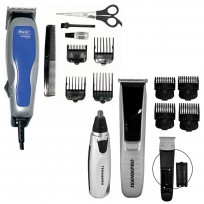 Máquina de Corte HomeProBasic Wahl + Professional Nasal Trimmer + Trimmer Fast Clipper Teknikpro