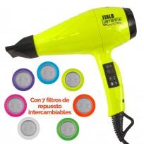 Secador de Pelo Profesional Italo Luminoso BaByliss PRO con filtros intercambiables