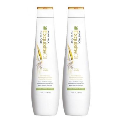 Pack Biolage Exquisite Oil: Shampoo + Acondicionador x 400ml Matrix + REGALO!!!