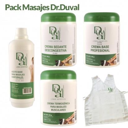 Pack de Dr. Duval Masajes