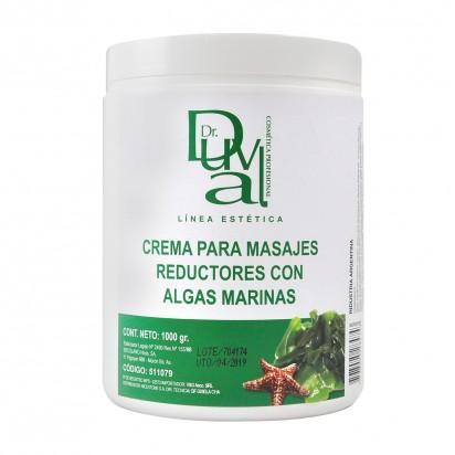 Crema para Masajes Reductores con Algas Marinas x1kg Dr. Duval
