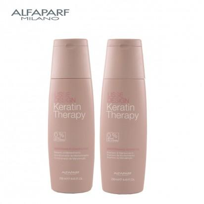 Shampoo Maintenance x250ml + Acondicionador Maintenance x250ml Lisse Design Keratin Therapy Alfaparf
