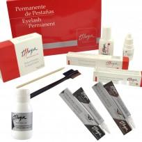 Kit Pestañas Full: Kit Permanente de Pestañas 100 Servicios + 2 Tinte de Pestañas + Solución de tinte