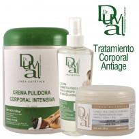 Tratamiento Corporal Antiage Dr. Duval: Fango + Loción + Crema Pulidora