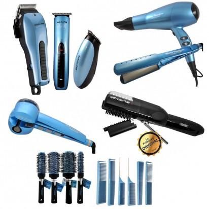 Combo Pack Maquinas Profesionales + Pack Plancha y Secador + Miracurl + Split Ender + Peines y Cepillos