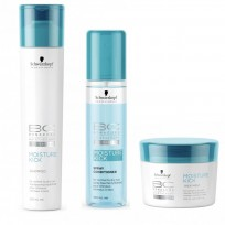 Pack BC Moisture Kick: Shampoo x250ml + Spray Acondicionador x200ml + Tratamiento x200g