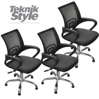 3 Sillones de Corte a Gas Day Luxury TeknikStyle