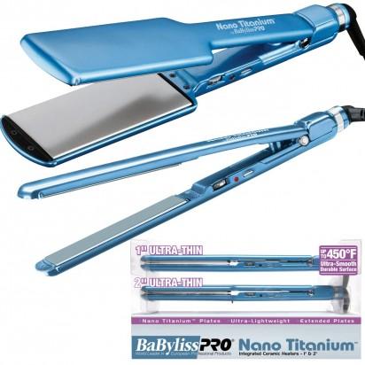 Set de Planchas Profesionales para Alisado 3074 + 3072 Nano Titanium Babyliss PRO