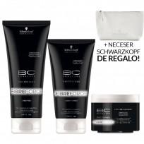 Pack BC FibreForce: Shampoo x200 ml + Acondicionador x150ml + Tratamiento x150g