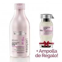 Shampoo Serie Expert Vitamino Color x 250ml Loreal Professionnel + 1 Ampolla de REGALO!!
